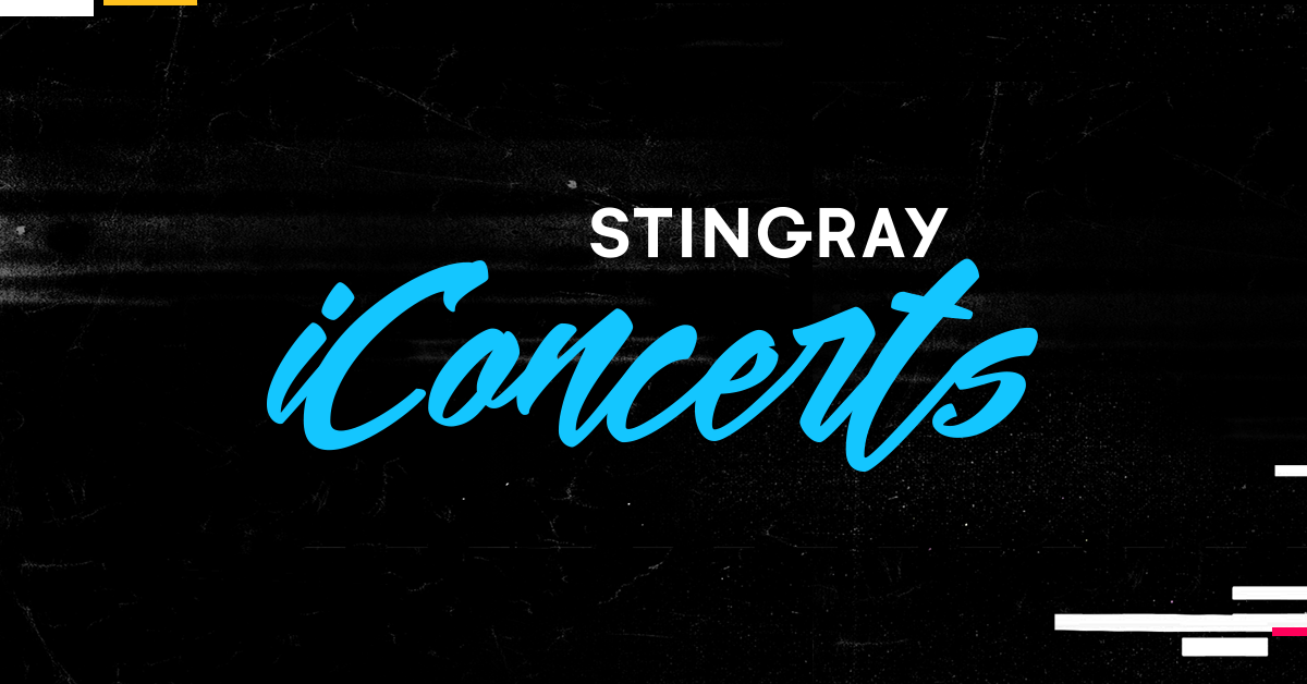 Full Concert Schedule, Watch Music on TV | Stingray iConcerts